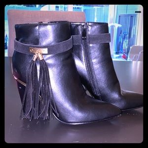 Ankle Boots with Wedge Heel